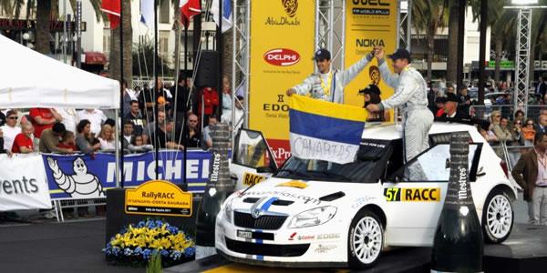Yeray Lemes y Rogelio Peñate en el RallyRACC Catalunya - Costa Daurada