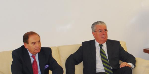Carlos Gracia y Carlos Gaztañaga.