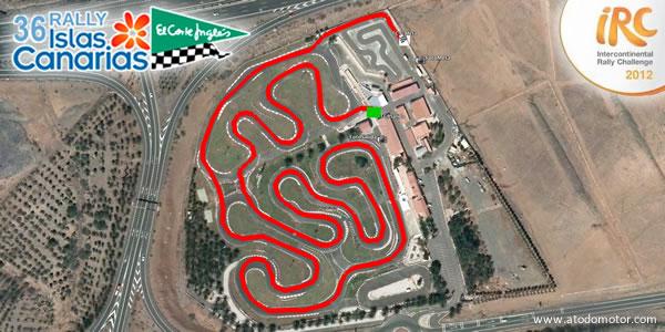 Tramos Virtuales del Rally Islas Canarias - El Corte Inglés IRC 2012