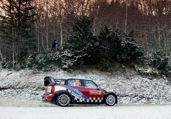 Dani Sordo es segundo en el Rally de Montecarlo - Foto: Best of Rally Live