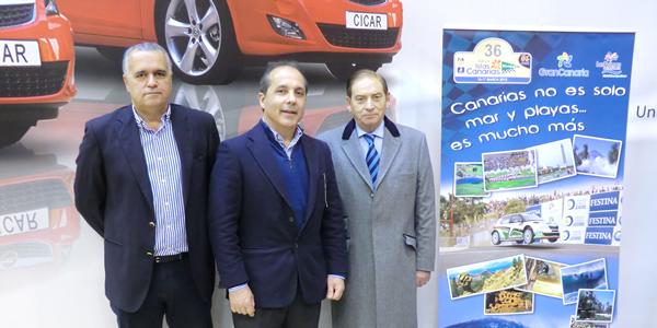 De izd. a dcha. Germán Morales, Luis Monzón y Carlos Gracia