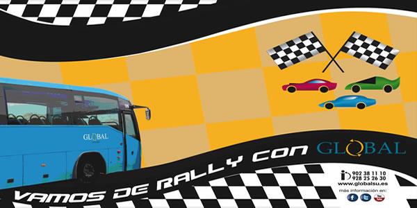 Global Salcai Utinsa con el Rally Islas Canarias