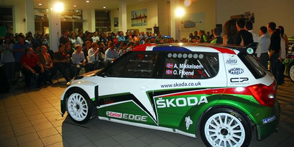 Imagen de archivo de la presentación del equipo Skoda el pasado año