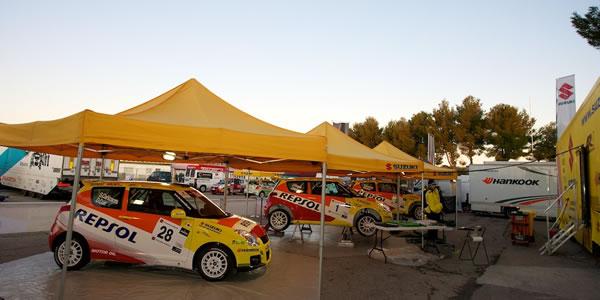 El equipo Suzuki participa en el Islas Canarias