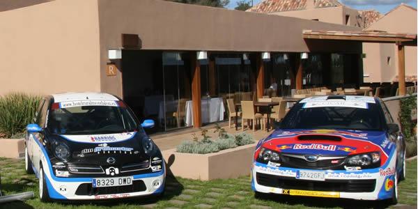 Vehículos del Barrios Rallye Team