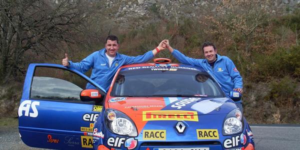 Luis Aragonés en el Rally de Canarias IRC 2012