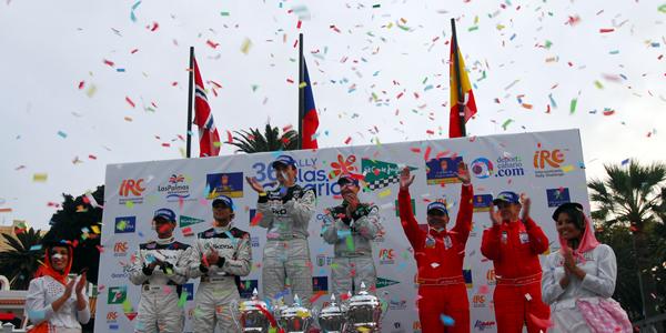 Jan Kopecký gana el Rally Islas Canarias