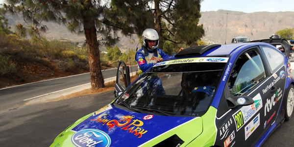 El Rally Islas Canarias desde la derecha de un WRC