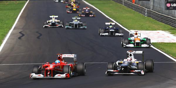 Fernando Alonso en el pasado Gran Premio de Italia de Fórmula 1