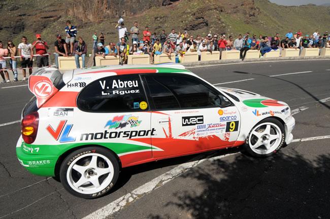 Víctor Abreu en la Subida a Tamaimo 2012