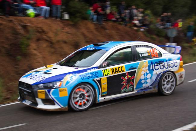 Yeray Lemes en el RallyRACC Rally de España - Catalunya WRC 2012