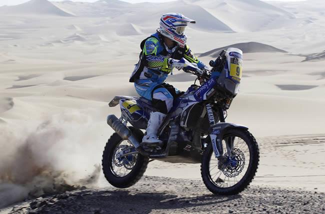 Olivier Pain, lider en motos