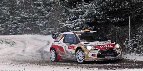 Dani Sordo a por todas en el WRC 2013