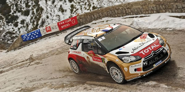 Sebastien Loeb gana la primera prueba del WRC 2013