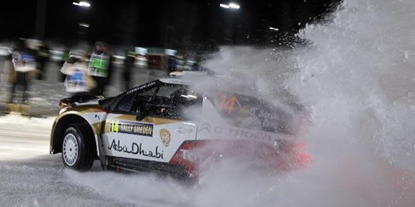 Dani Sordo en el pasado Rallye de Suecia