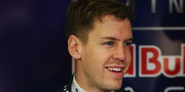 Vettel en los entrenamientos de pretemporada en Montmeló