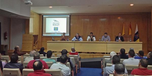 reunión informativa en las instalaciones de Infecar