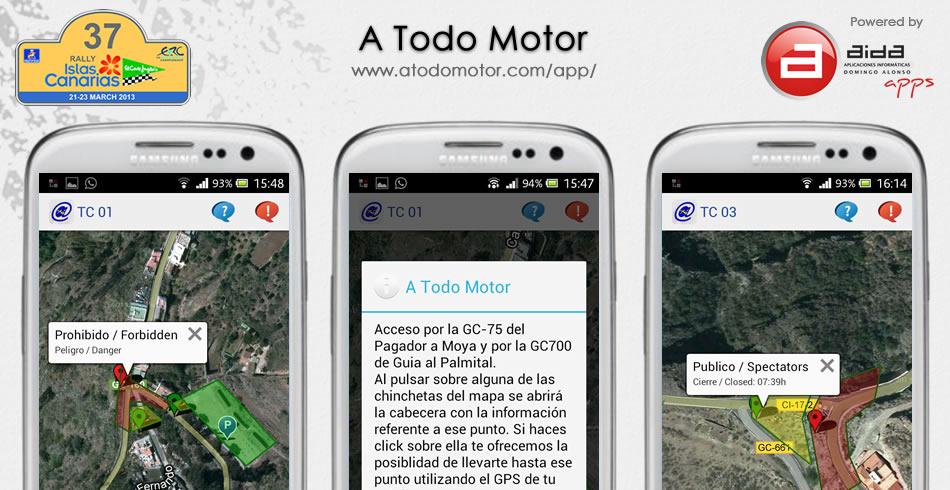 App de A Todo Motor para Android