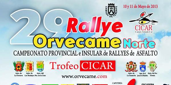 Rallye Orvecame Norte