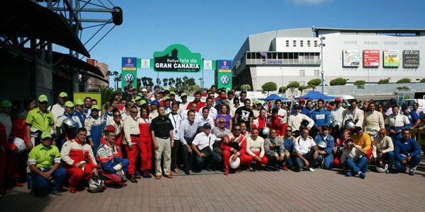 Imagen de la pasada edición del Rallye Isla de Gran Canaria