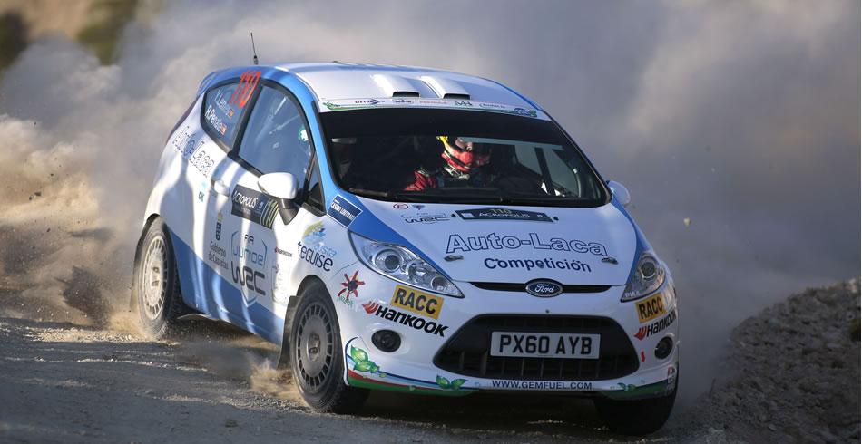 Yeray Lemes no tuvo suerte en el Acrópolis - Foto: McKlein – FIA Junior WRC