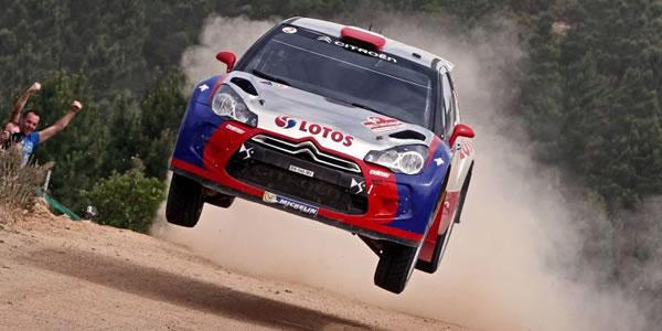 Victoria de Robert Kubica en el Rally de Italia en WRC2