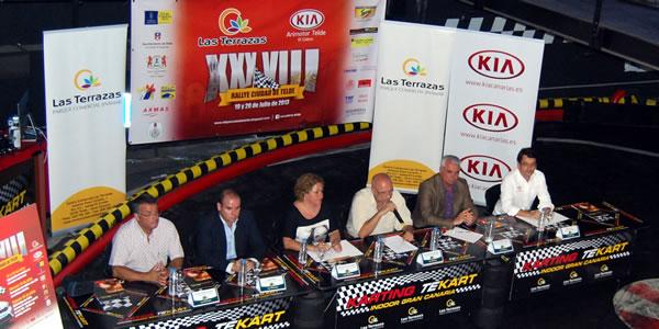 Presentado oficialmente el Rallye Ciudad de Telde 2013