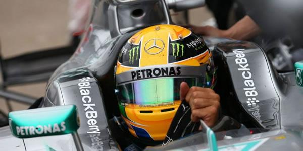 Lewis Hamilton saldrá desde la pole mañana domingo en Hungría