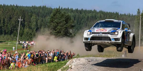 Sebastien Ogier vence en el Rally de Finlandia WRC 2013