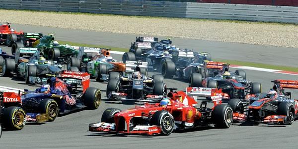 Salida del último Gran Premio