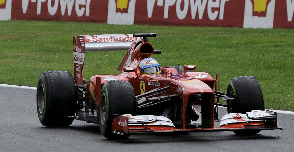 Fernando Alonso llevó a cabo una gran remontada en Bélgica