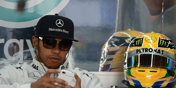 Lewis Hamilton fue el piloto más rápido del viernes