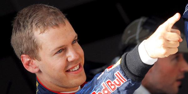 Vettel marca de nuevo el ritmo