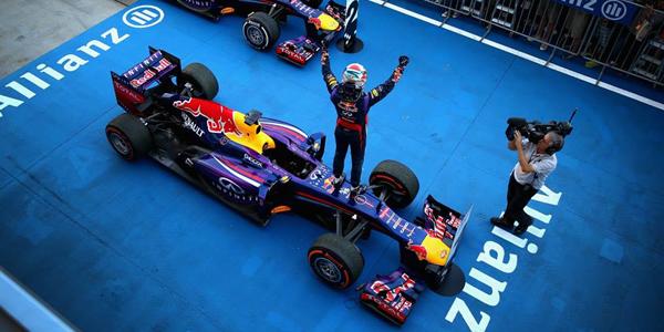Sebastian Vettel será tetracampeón mañana si termina entre los cinco primeros.
