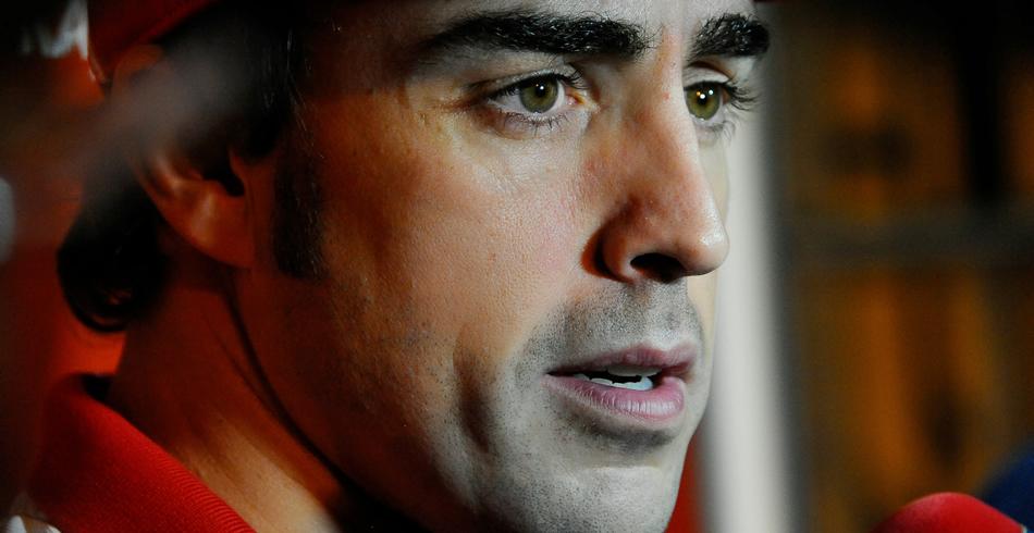 Fernando Alonso no pudo puntuar por culpa del toque con Webber