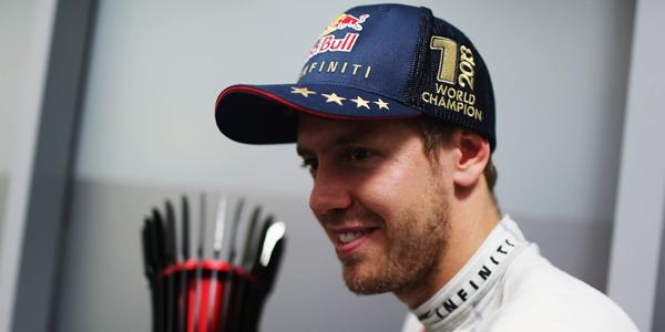 Vettel ya es tetracampeón del Mundo de la F1