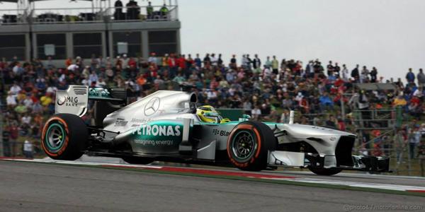Nico Rosberg, el más rápido en ambas sesiones de libres