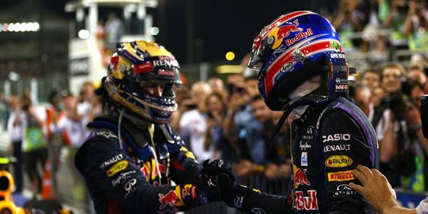 Doblete de Red Bull en el GP de Brasil