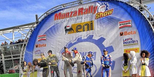 Dani Sordo se impone en el Monza Rally Show