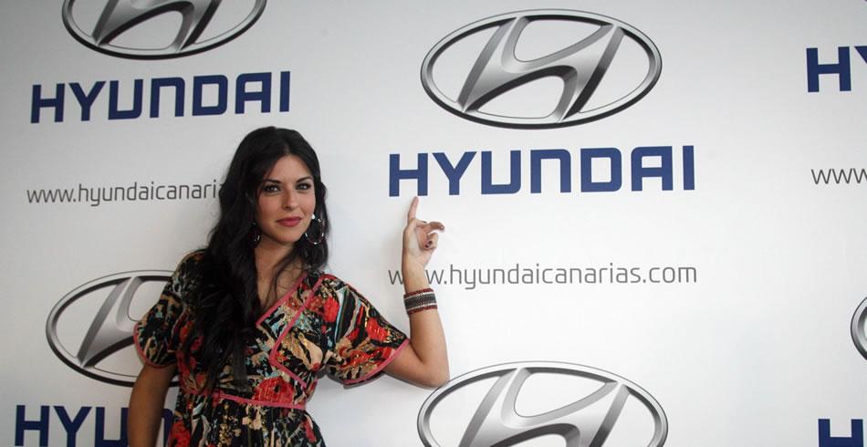 Eloísa González, embajadora de Hyundai Canarias