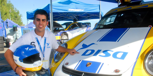 Pablo Suárez es el nuevo piloto DISA - Copi Sport