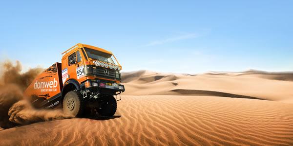 Un equipo con 27 años de experiencia en el Dakar