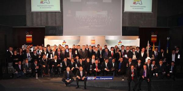 Gala de Campeones de la R.F.E de Automovilismo