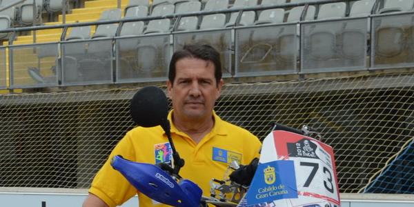 Jorge Gómez, con todo listo para el Dakar 2014