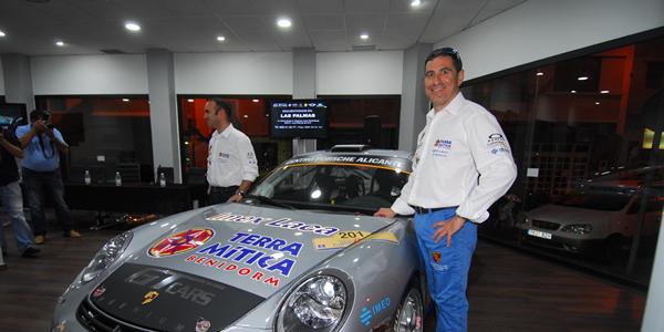Miguel Fuster estará de nuevo en el rally.