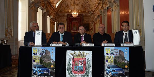 Presentado el Rallye Isla de Gran Canaria