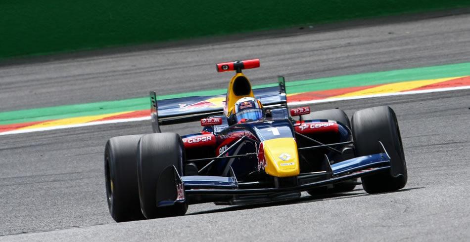 Victoria de Sainz en el mítico Circuito de Spa
