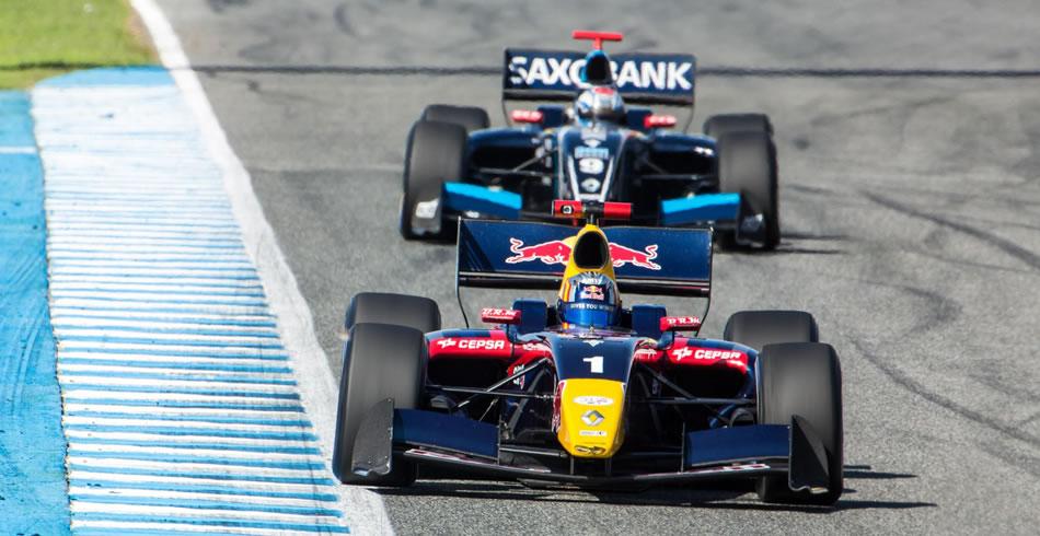 Carlos Sainz Jr en el Circuito de Jerez