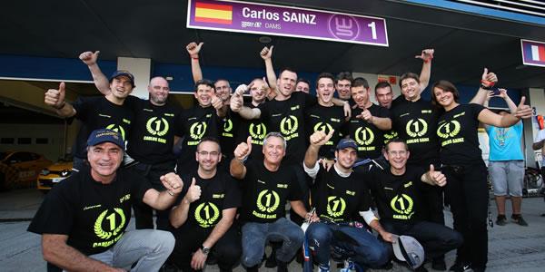 Carlos Sainz Jr., campeón de las World Series 2014