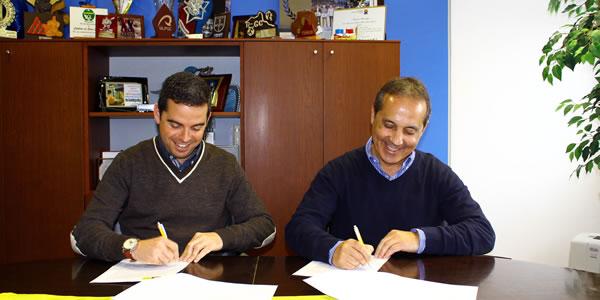 Lucas Braco de Laguna y Luis Monzón